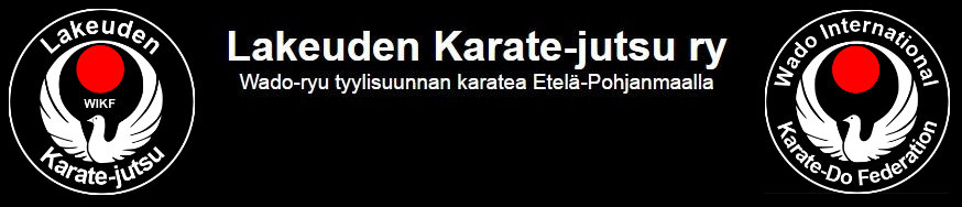 Lakeuden Karate-Jutsu in english